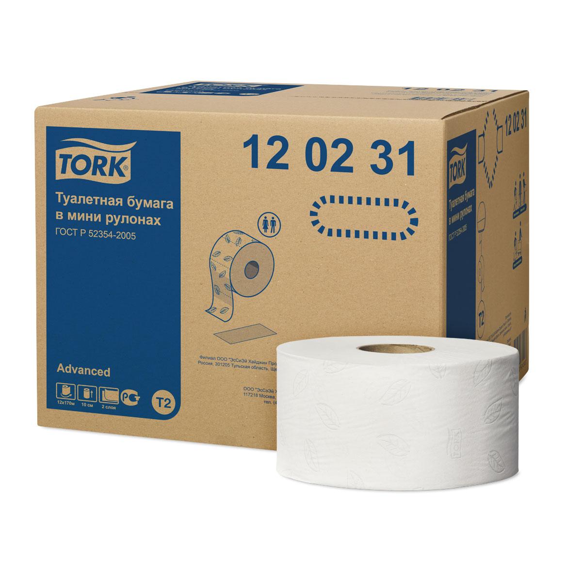 Туалетная бумага длина 525